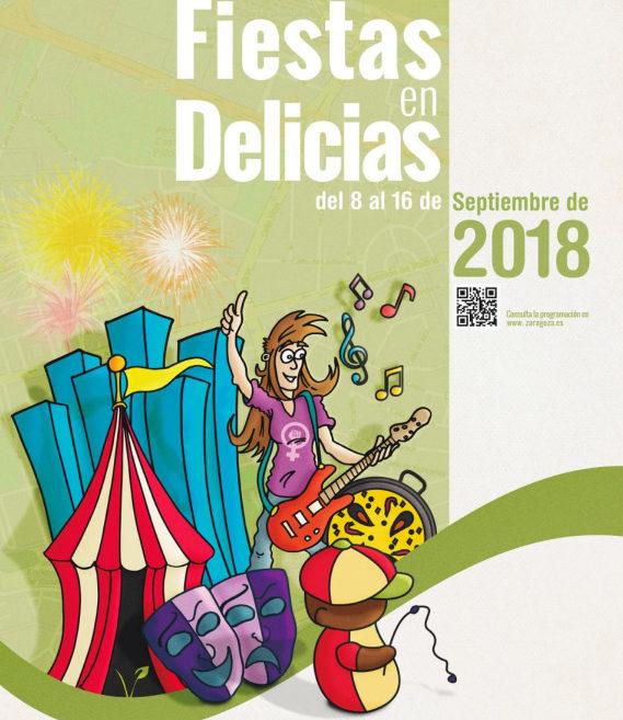 Cartel fiestas delicias