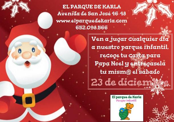 Imagenes De Papa Noel De Navidad.Fechas Especiales Melchor Y Papa Noel En El Parque De Karla