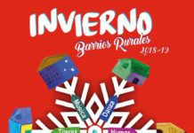 Cartel del programa invierno barrios rurales
