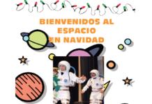 espacio en navidad