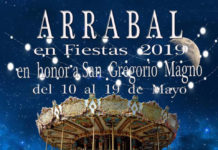 cartel de fiestas del arrabal