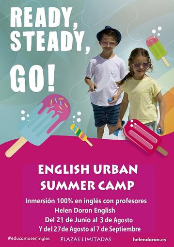 campamentos en inglés