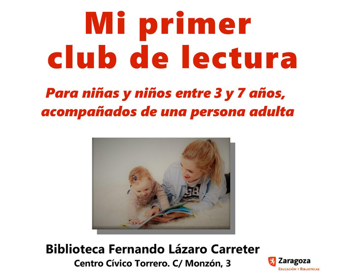 club de lectura zaragoza