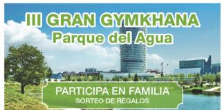gymkhana en el parque del agua