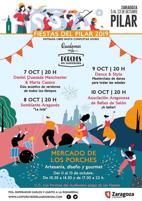 porches en el pilar