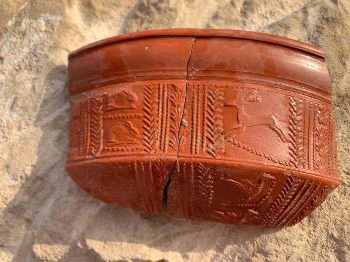 los bañales, cerámica