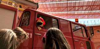 ocio infantil en el museo de los bomberos