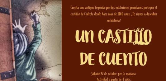 castillo cadrete, cuentacuentos