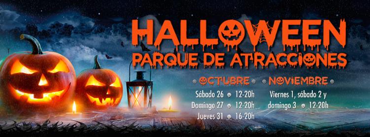 parque atracciones halloween