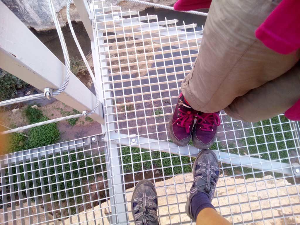 vertigo en aliaga