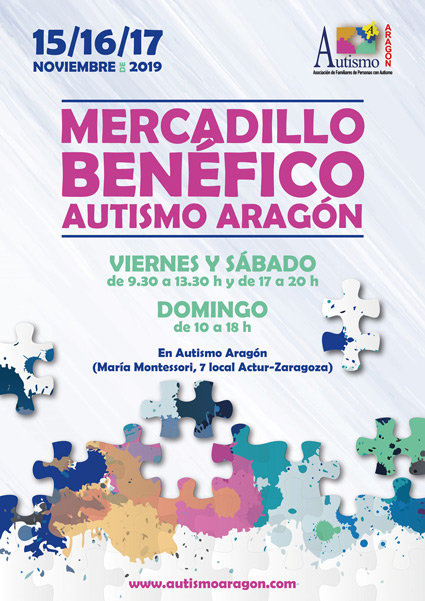 mercadillo Autismo Aragon