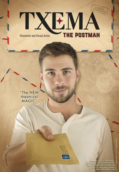 cartel de The Postman