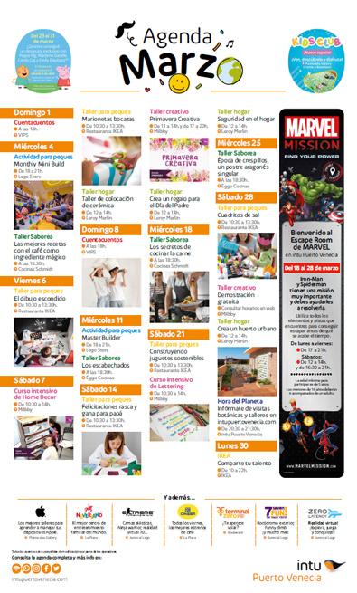 agenda de marzo