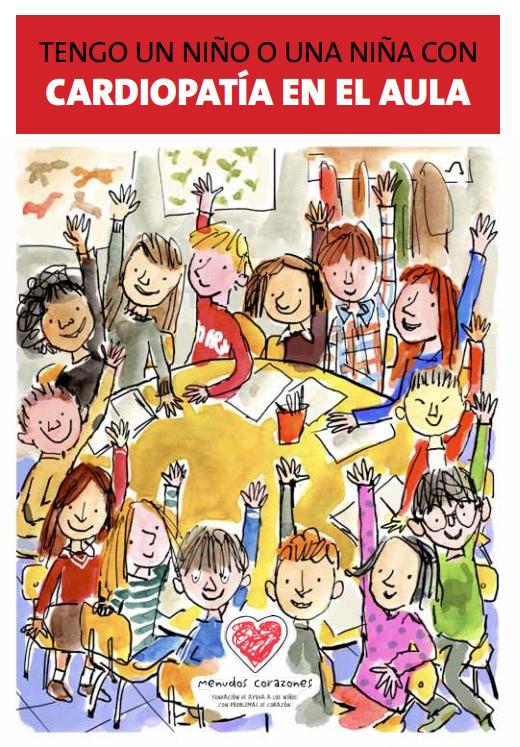 Guía sobre cardiopatía infantil en el aula, editada por la fundación Menudos Corazones
