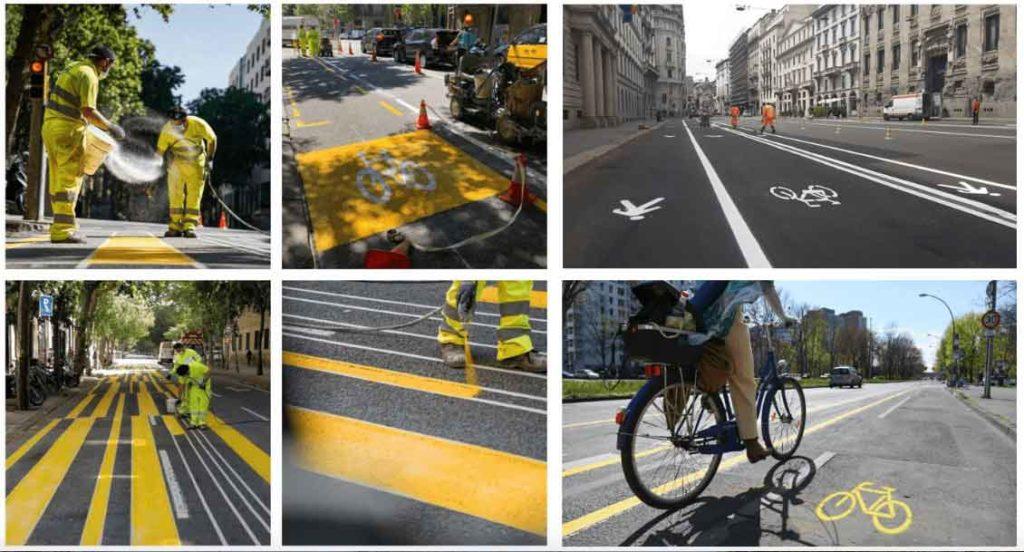 Carriles bici en la ciudad