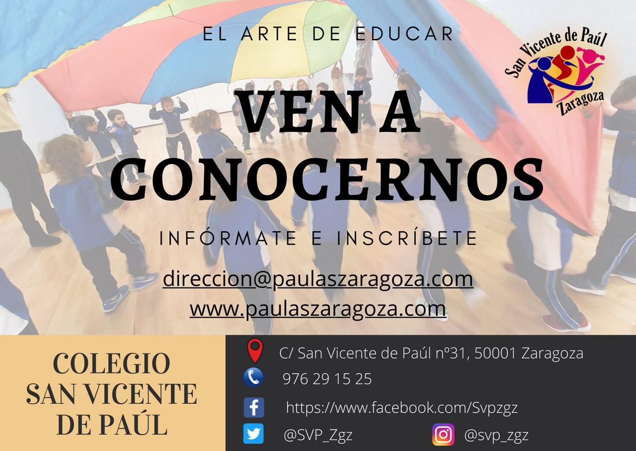 colegio San Vicente de Paúl Zaragoza