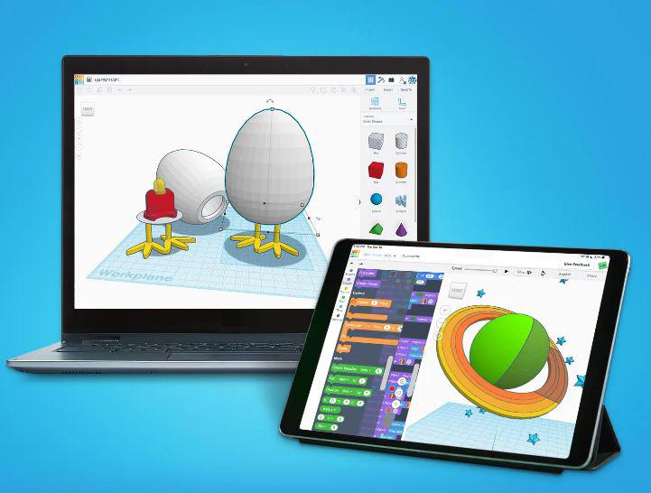 tinkercad, diseño 3d para niños