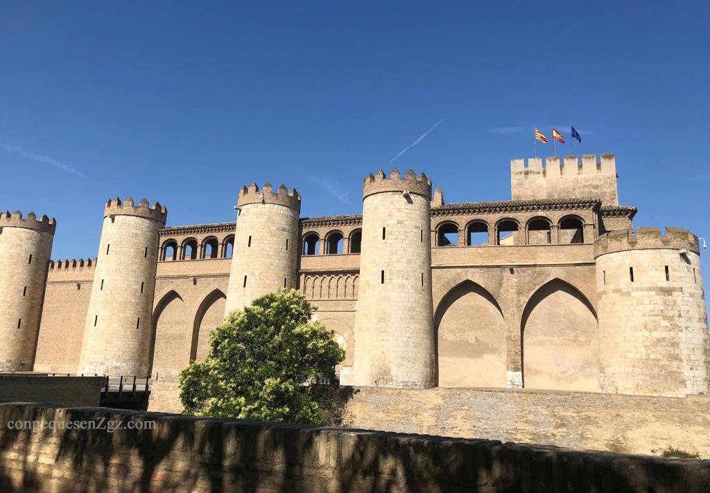 palacio de la Aljaferia en Zaragoza