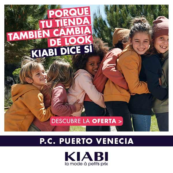 Kiabi renueva su tienda en Puerto Venecia