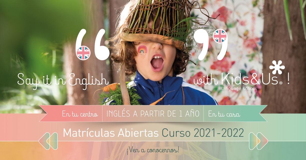 kids&us inglés para niños en Zaragoza